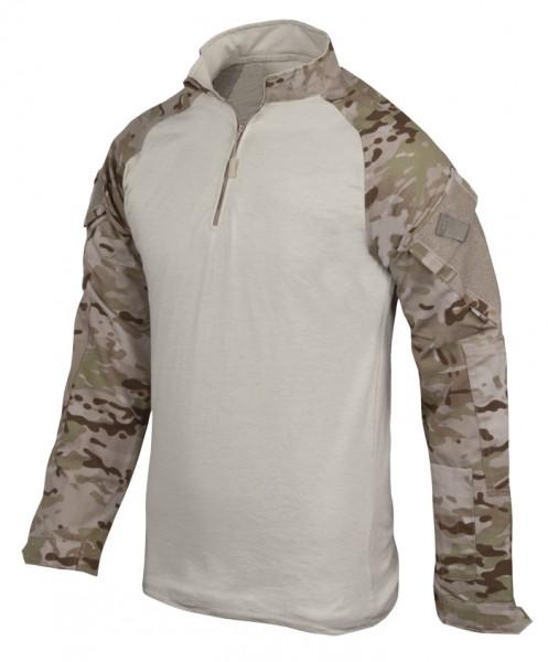 TRU-SPEC Combat Shirt 1/4 Zip Multicam Arid