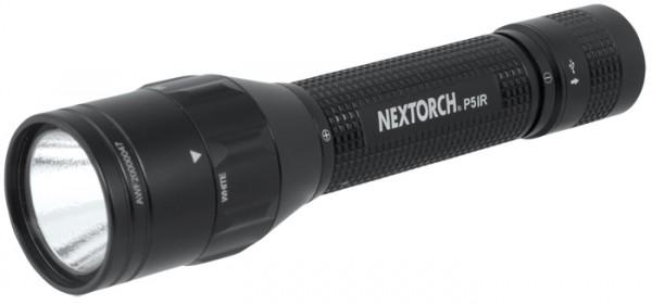 Nextorch Taschenlampe P5 Dual-Light IR Weiß
