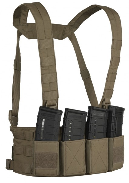 Warrior Chest Rig Low Profile Coyote