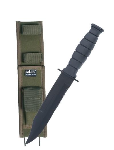 Mil-Tec Kampfmesser Army mit Scheide Oliv
