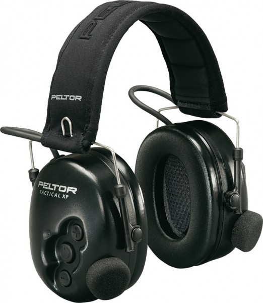 3M Peltor Tactical XP Schwarz
