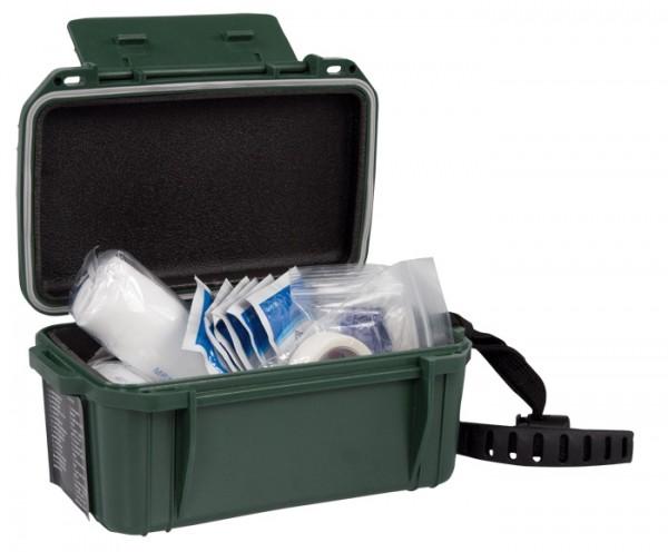 Camping First Aid Kit Box Waterproof Oliv