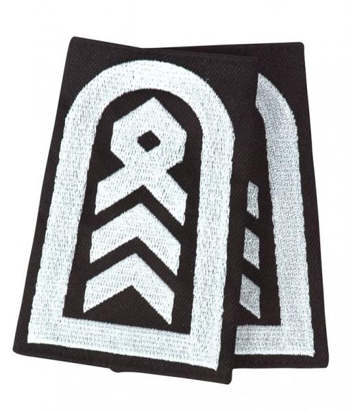 BW Rangschl. O.Stabsfeldwebel Heer Schwarz/Weiss