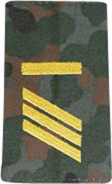 BW Rangschl. Haupptgefreiter-UA Marine Tarn/Gold