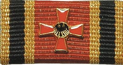 Bandschnalle Bundesverdienstkreuz I.Kl. m. Aufl.
