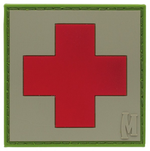 Maxpedition Rubber Patch MEDIC 50 x 50 Arid
