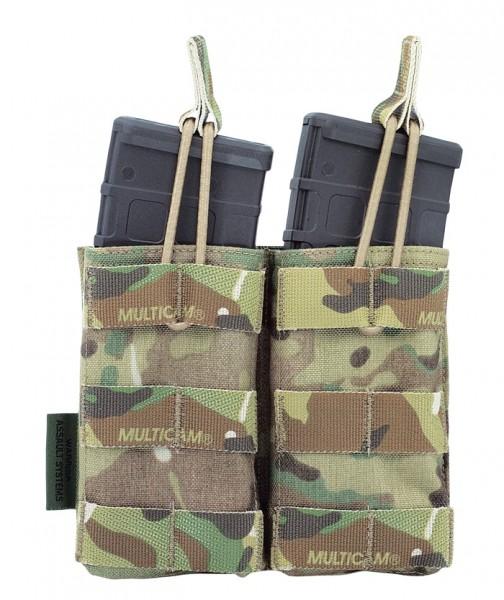 Warrior Double Mag Pouch Multicam M4/AR15