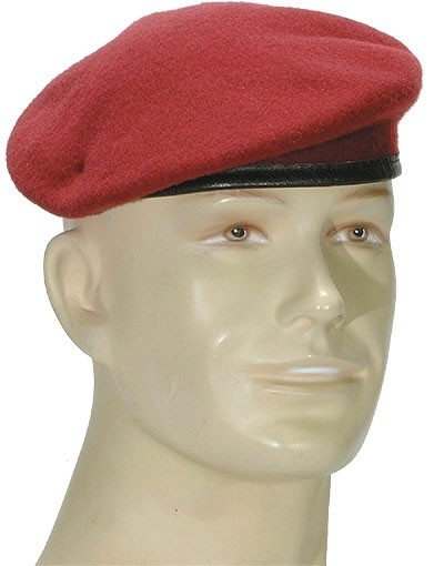Deutsches Commando Barett Bordeaux