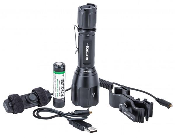 Nextorch T7 Taschenlampe Jagd Set