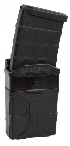 Warrior Polymer M4 Style 5.56mm Mag Pouch Schwarz