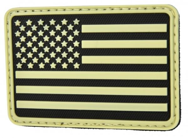 Hazard 4 Rubber Patch USA 75 x 50 GID