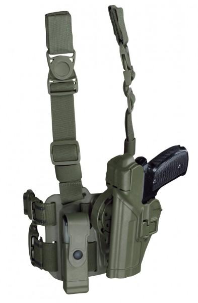 BLACKHAWK Multifunktionsholster Set P8 Oliv Links