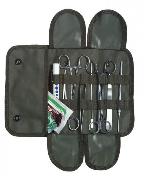 Chirurgenset 12-teilig mit Tasche