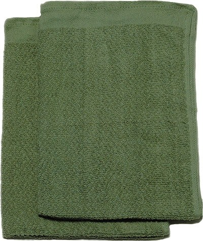 BW Handtuch Frottee Oliv Neu