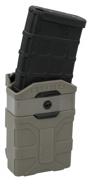 Warrior Polymer M4 Style 5.56mm Mag Pouch Earth
