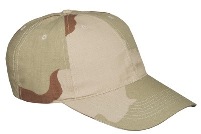 MMB Baseball Cap Ripstop 3-Farben-Desert