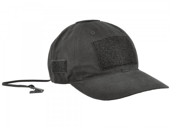 Baseball Cap Hazard 4 PMC Velcro Cap Black