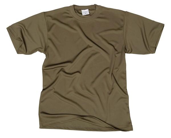 Tacgear T-Shirt Coolmax - Oliv