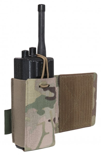 WAS Laser Cut Wing Velcro Adustable Radio Pouch (Links)