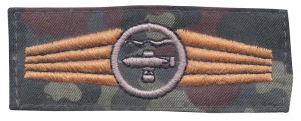 BW Tätigk.Abz. Unterwasserwaffenpers.Tarn/Bronze