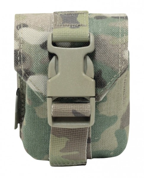 Warrior Single Frag Pouch Multicam