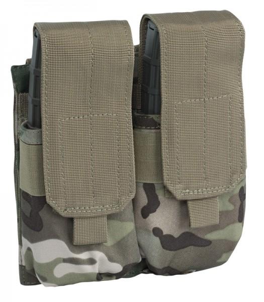 Doppel Magazintasche M4/M16 Multitarn