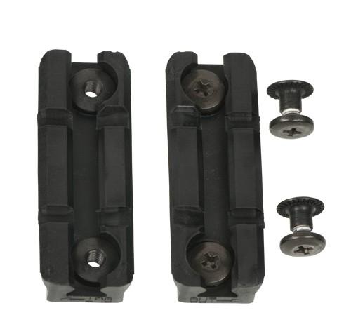 BLACKHAWK CQC Rail Adapter 2-fach Schwarz