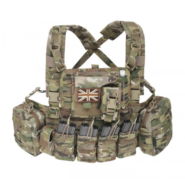Warrior Elite Ops Chest Rig Elite 4 Multicam M4