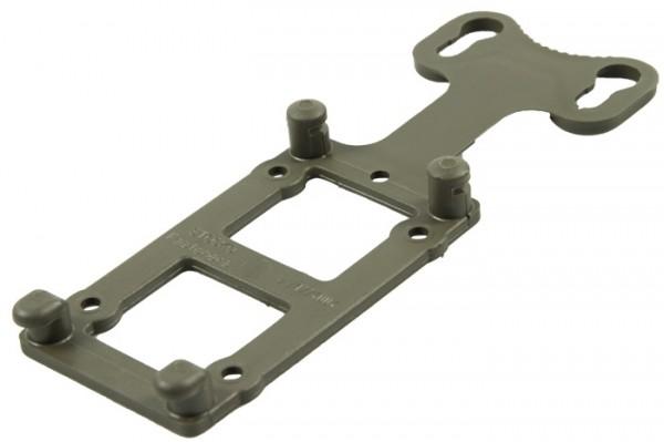 BW Adapterplatte Kunststoff Oliv