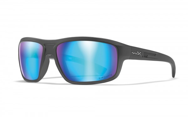 Wiley X Contend Sonnenbrille Captivate Polarized Blue Mirror