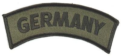 BW Armabzeichen 'Germany' Oliv Klein