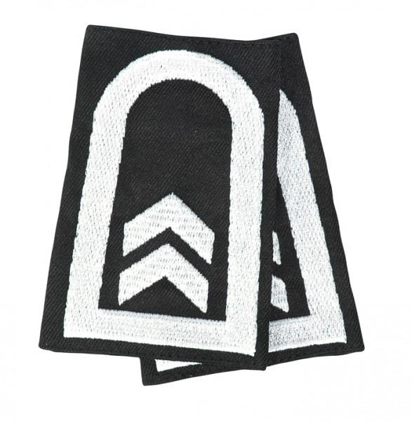 BW Rangschlaufe Oberfeldwebel Heer Schwarz/Weiss