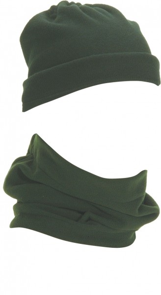 Hals/Kopfschützer mit Gummizug Fleece (2 Farben)