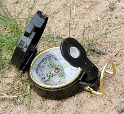 US Kompass Kunststoff Gehäuse Scout