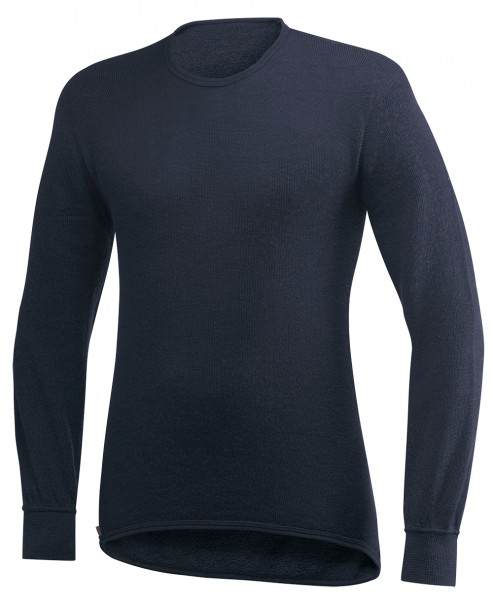 Woolpower Shirt Langarm 200 Navy