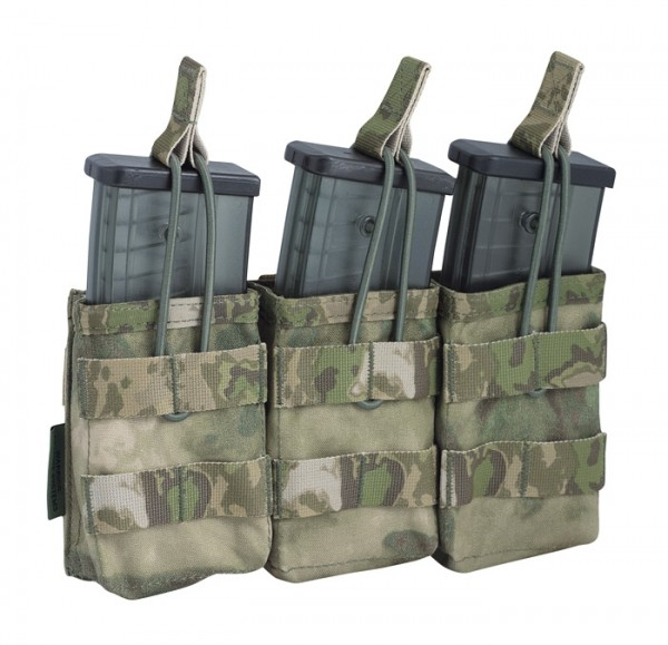 Warrior Triple Open Mag Pouch G36 A-TACS FG